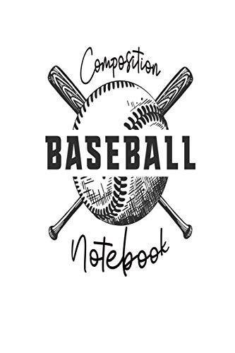 Distressed-design Baseball (Composition Notebook: Baseball: 120 Blank Lined Page Softcover Notes Journal, College Ruled Composition Notebook, 6x9 Blank Line, Baseball Player Gifts, Baseball Coach Gifts, Gifts For Baseball Lovers)