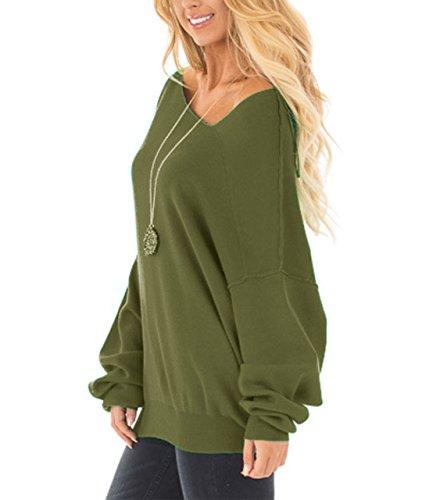 ZILIN Damen Sweatshirt Army