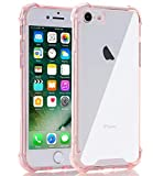 Egotude India Shock Proof Hard Soft Silicone Bumper Back Cover for iPhone 7/8