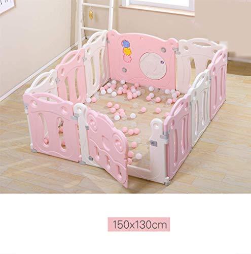 KAPR Baby-Spiel Zaun Indoor Home Spielplatz Sicherheitszaun Baby Kleinkind Zaun robust - mit hochwertigen ungiftigen Materialien gemacht