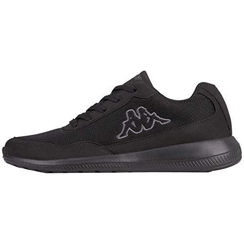 Kappa Unisex-Erwachsene Follow OC Sneaker, Schwarz (Black/Grey 1116) 50 EU