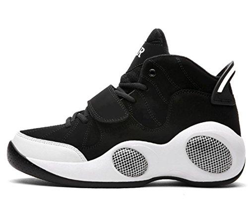 Männer Breathable Extra große dickere Bewegung Casual Running Basketball Schuhe Sneakers Outdoor Schuhe Black