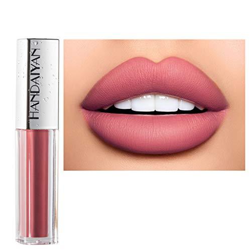 Lippenstift,2023 Matt Wasserfest Göttin lippenstift langanhaltende Lippenwäsche-flüssiger Lippenstift-wasserdichter Lippenglanz-Make-up