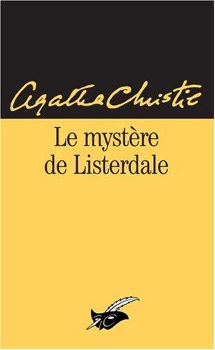 Le Mystere De Listerdale par Agatha Christie
