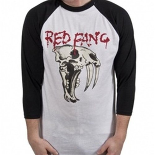 Red Fang Black Baseball Raglan T-Shirt