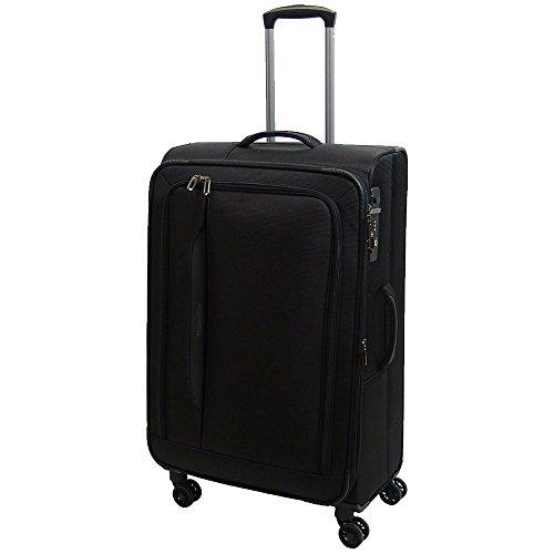 """Travelite """"Crosslite"""" Größe L Koffer, 77 cm, 102 liters, Schwarz, 89549-01"""