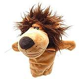 FOTN Burattino di Mano della Peluche farcito del Leone del Cane di Scimmia del Cane di narrazione del Regalo dei Bambini del Bambino di Natale