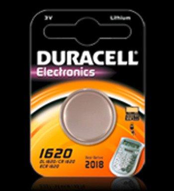 Duracell DL1620 Knopfzelle 1-er Blister Lithium 3V (3v 1620 Cr Batterie)