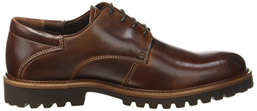 camel active University 11, Derby Uomo Marrone (Brandy)