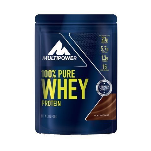 Multipower - 100 % Pure Whey 450 g Rich Chacolade 2er Pack...