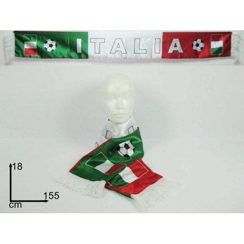 ** Sciarpa doppia con la scritta ITALIA 155 x 18 cm - SOUVENIR