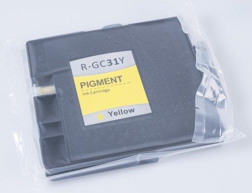 Cartouche d'encre pour Ricoh comme GC l50-c-21h Yellow
