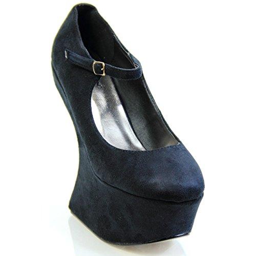 Unknown, Scarpe col tacco donna Nero (nero)
