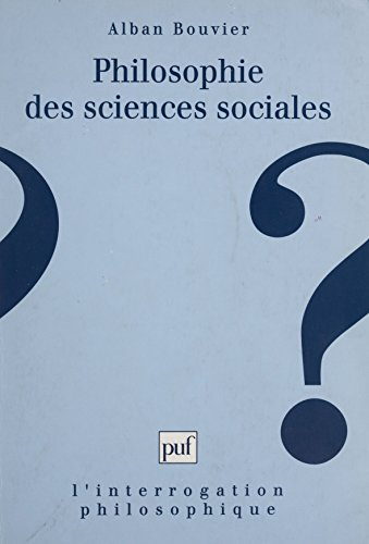 Philosophie des sciences sociales