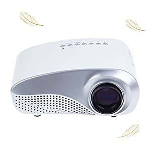 Emperor of Gadgets® Mini LED Multimédia Portable projecteur Home Cinema Theater PC VGA USB AV HDMI SD Card