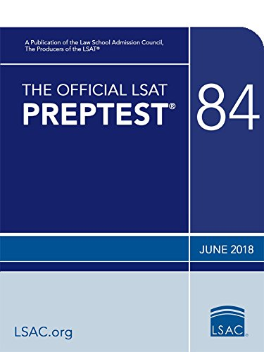 The Official LSAT Preptest 84: June 2018