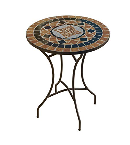 Hevea Tisch Mosaik Denver Bronze Außen