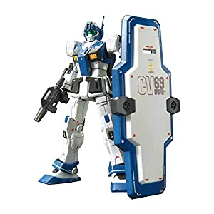 Bandai Hobby BAN230355 HGUC 1/144#22 GM Guard Custom Gundam MSV-R, Color Blanco
