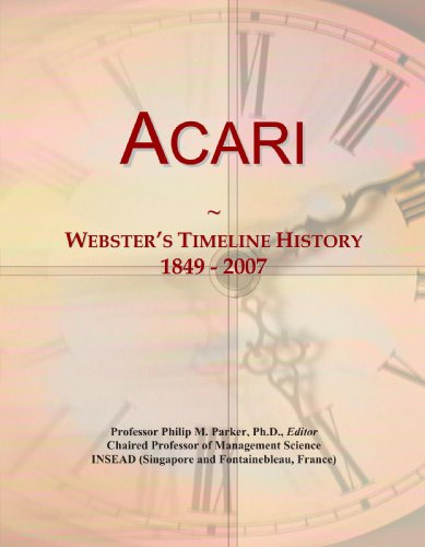 acari-websters-timeline-history-1849-2007