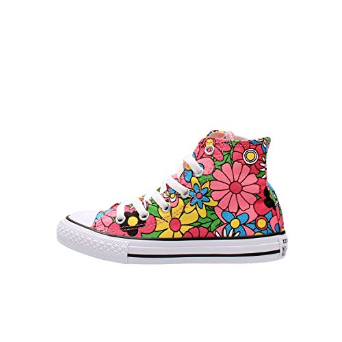 CONVERSE ALL STAR HI CANVAS GRAPHIC Multicolore