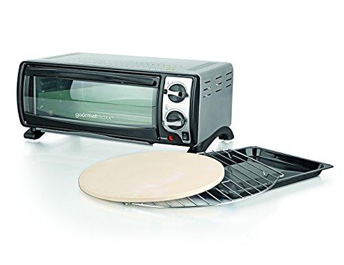 TV Unser Original 04524 Gourmet Express Ofen ( Mit Pizzastein, Backblech und Grillrost )