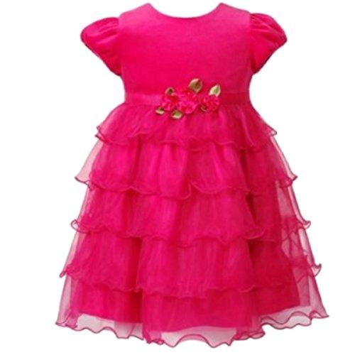 Youngland Mädchen Baby Tutu Princess Kleid pink 98 - Für Mädchen Outfits Youngland