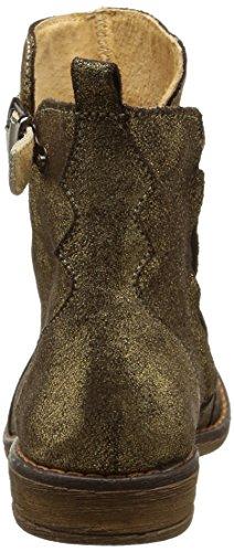 Minibel Juliet, Bottes Classiques fille Or (022 Marron/Or)