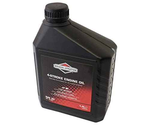 Motoröl 1,4 L original Briggs & Stratton Öl für Rasenmäher SAE 30