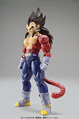 Bandai Hobby- Vegeta Super Saiyan 4 Model Kit 14 cm Dragon Ball GT Figure-Rise Standard 84087P, Multicolor (BDHDB144984) 6