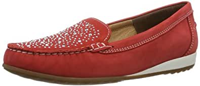 ara Newport 12-30844-08, Damen Slipper, rosso, EU 43 (UK 9)