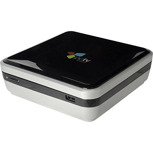 PCTV Broadway HD 292 - WLAN TV-Tuner für iPhone, iPad, Android, PC, Mac (DVB-C) Schwarz