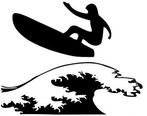 Adesivi per pareti Sport Surf rimovibile in PVC Home Art Stickers murali Decor per il ragazzo in camera da letto dei bambini