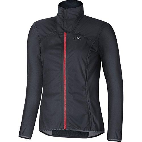 Preisvergleich Produktbild Gore Wear Damen Winddichte Fahrradjacke,  C3 Women Gore Windstopper Jacket,  38,  Schwarz,  100275