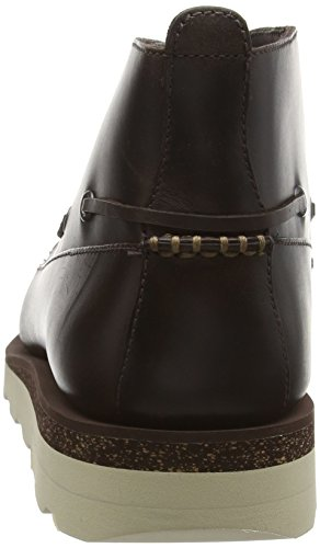 Clarks Dakin Deck, Mocassins homme Marron (Dark Brown Lea)