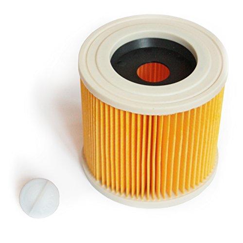 MI:KA:FI Patronenfilter | für Kärcher Mehrzwecksauger + Nass-/ Trockensauger + Waschsauger | WD2 + WD3 + WD2.200 + WD3.200 + WD3.300 M + WD3.500 P + SE 4001 + SE 4002 | wie 6.414-552.0