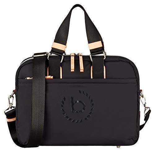 59db2d20589a4 Bugatti Lido Aktentasche Damen mit Laptopfach – Businesstasche Damen  Laptoptasche – Bürotasche in Schwarz