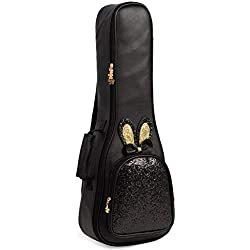 Sac de guitare Sac de guitare acoustique Paillettes fille belle mignonne petite forfaits de guitare dans M. Kerry double épaule Ukraine Lili Pack 21 pouces Sac de guitare acoustique acoustique et élec