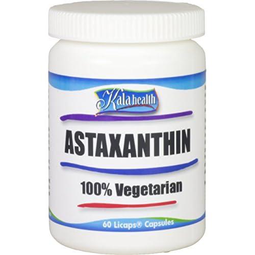 Kala Health – Astaxanthin softgel Capsules 4mg The Strongest antioxidant with Sunflower Oil for...