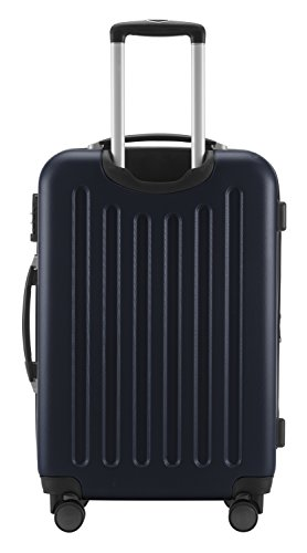 HAUPTSTADTKOFFER - Spree - 3er Koffer-Set Trolley-Set Rollkoffer Reisekoffer Erweiterbar, TSA, 4 Rollen, (S, M & L), Dunkelblau - 8