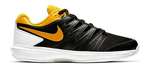 Nike Air Zoom Prestige Cly, Scarpe da Tennis Uomo, Multicolore (Light Bone/Black/Hot Lava/White 004), 43 EU
