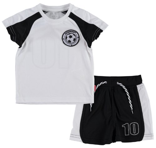 NAME IT mini Jungen Germany Fußball Set T-Shirt & Shorts Meltin, Größe:86