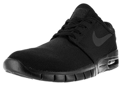 Nike Herren Stefan Janoski Max Sneaker, Arancione, 47,5 Eu Schwarz (nero / Nero-antracite-nero)