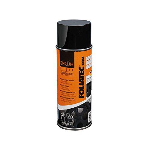 Foliatec 2082 Spray Schutzfilm Felge, Grau Carbon Matt
