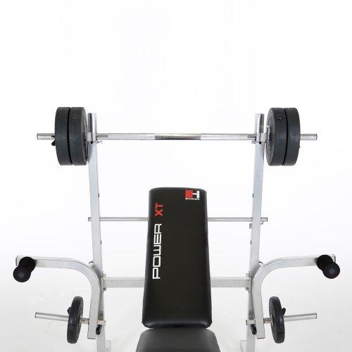 Verstellbare Hantelbank inklusive Gewichten (25 kg) im Test - 4
