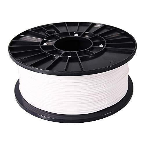 3D Drucker Filament PETG 1 kg weiss 1,75 mm Spule Rolle für 3D Drucker oder Stift in Vakuumverpackung premium Qualität BIO Spool 1.75mm Printer weiß - G Stift Spule
