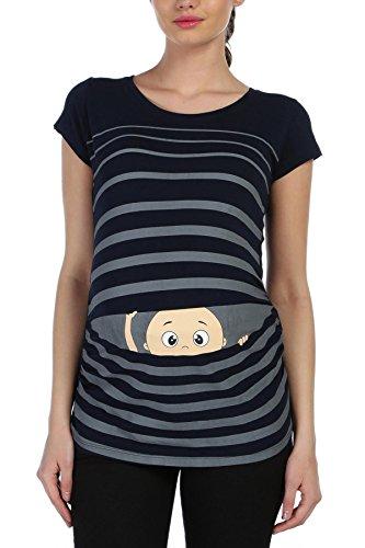 Witzige süße Umstandsmode T-Shirt mit Motiv Schwangerschaft Geschenk