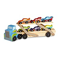 Melissa & Doug 12759 Mega Race Car Carrier Toy