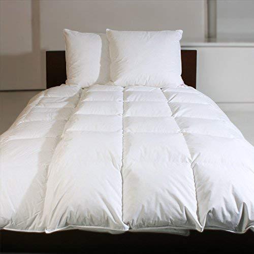 Revital EXTRA WARM Winter Daunendecke 135x200 100% Daunen Daunenbettdecke 8cm hohe Innenstegen Wärmeklasse 5 (135x200 cm)