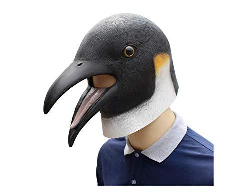 Halloween Pinguin Latex Maske Tier Maske Horror Vogel Kopf Maske Für Erwachsene Halloween Cosplay Kostüm,A,A