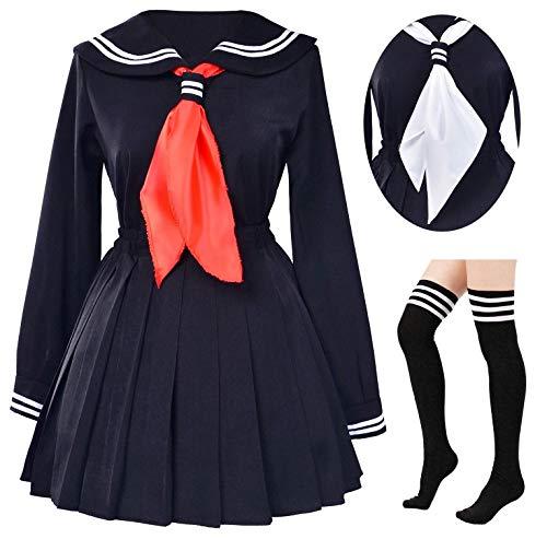 School Kostüm Classic Girl - Elibelle Blau Groesse Asia 3XL (Fit132-153Lbs) US /